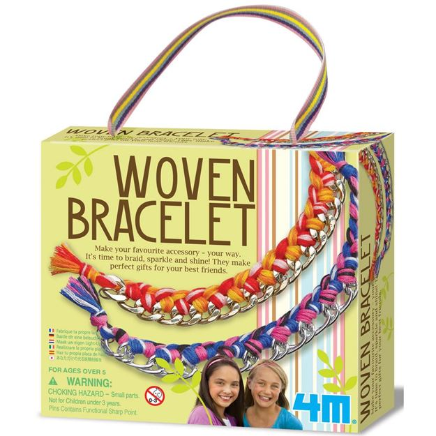 Picture of 4M Craft - Woven Bracelets