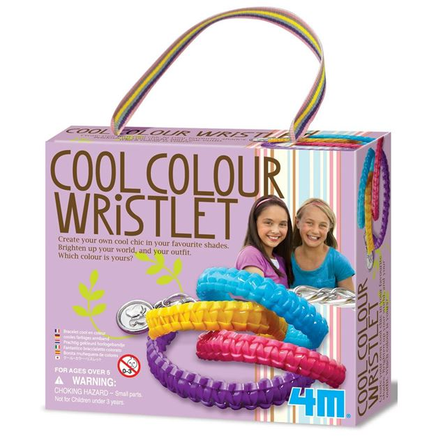 Picture of 4M Craft - Cool Colour Wristlets