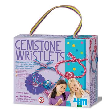 Picture of 4M Craft - Gemstone Wristlets