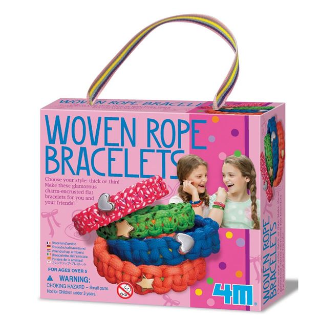 Picture of 4M Craft - Woven Rope Bracelets
