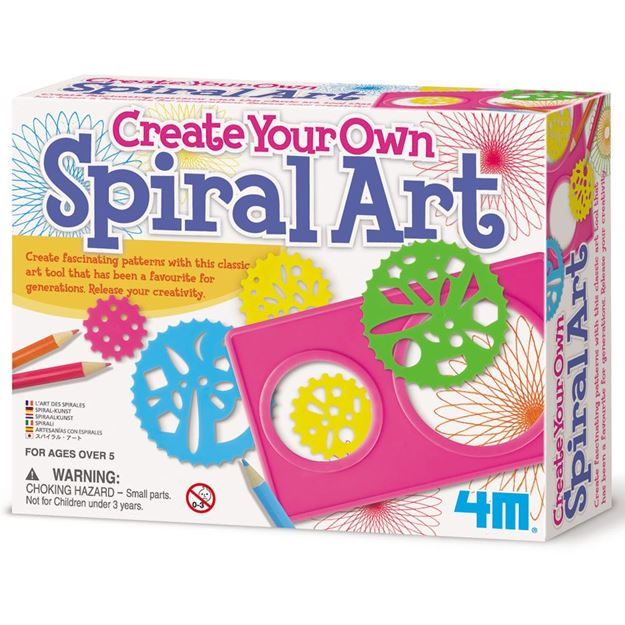 Picture of 4M Craft - Spiral Art