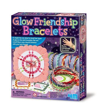 Picture of 4M Craft - Glow Friendship Bracelets
