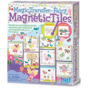 Picture of 4M Craft - Magic Transfer Fairy Magnetic Tiles