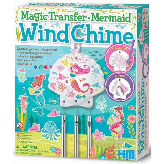 Picture of 4M Craft - Magic Transfer Mermaid Wind Chime
