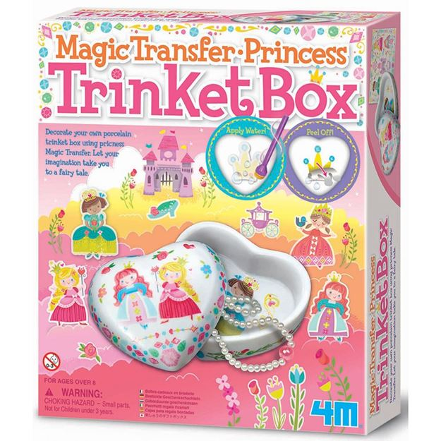 Picture of 4M Craft - Magic Transfer Princess Trinket Box