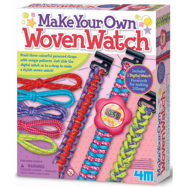 Picture of 4M Craft - Make Your Own Woven Watch