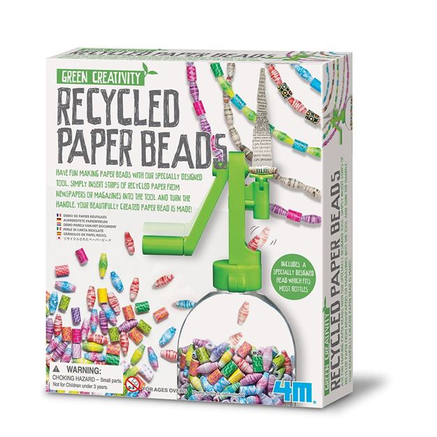 Picture of 4M Craft - Recycled Paper Beads