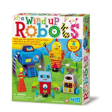 Picture of 4M Craft - Wind Up Robots