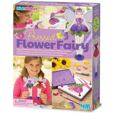 Picture of 4M Craft - Pressed Flower Fairy