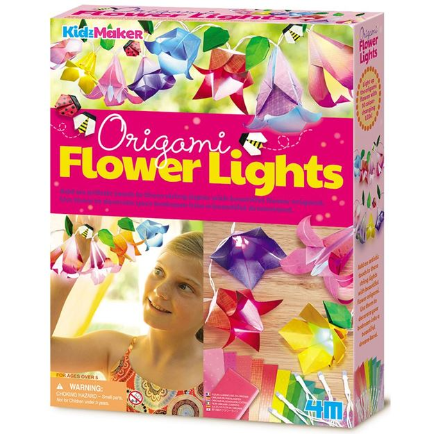 Picture of 4M Craft - Origami Flower Lights