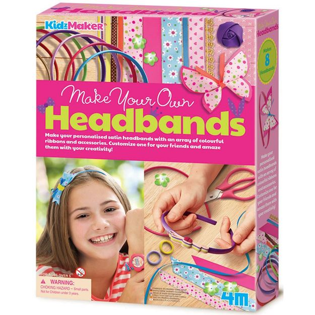 Picture of 4M Craft - Make Your Own Headbands
