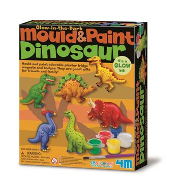 Picture of 4M Craft - Mould & Paint Dinosaur Glow