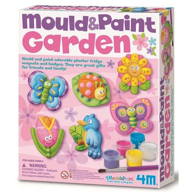 Picture of 4M Craft - Mould & Paint Garden