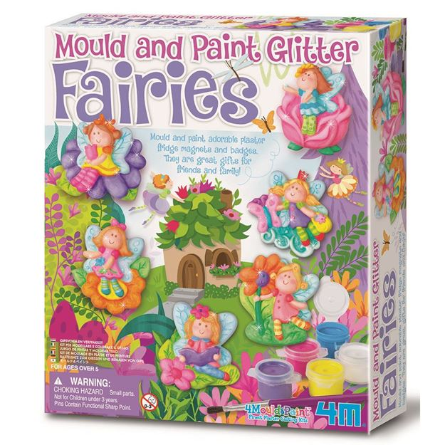 Picture of 4M Craft - Mould & Paint Glitter Fairy