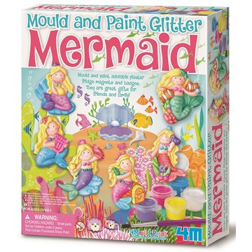 Picture of 4M Craft - Mould & Paint Glitter Mermaid