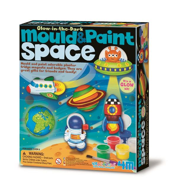 Picture of 4M Craft - Mould & Paint Space Glow