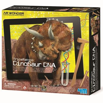 Picture of 4M Science - Dinosaur DNA Triceratops