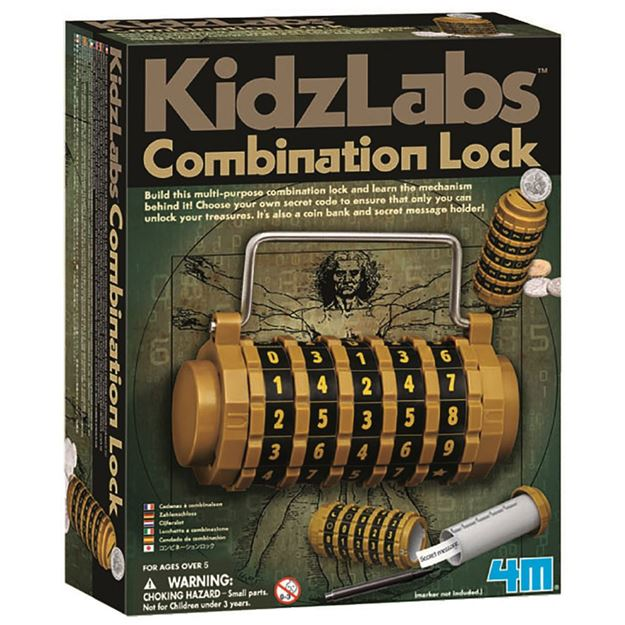 Picture of 4M Science - Combination Lock