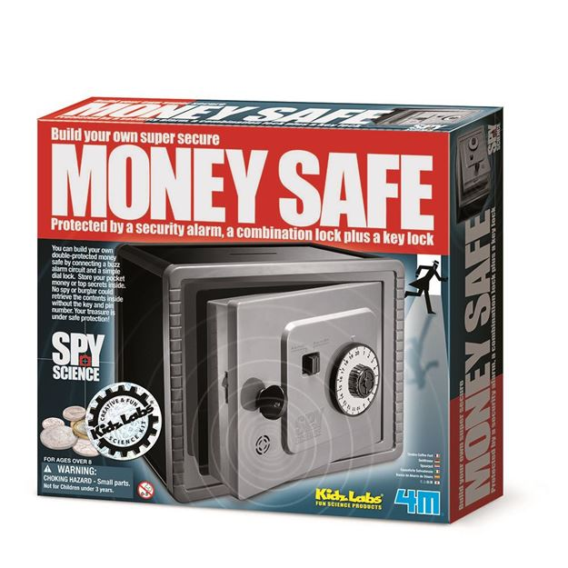 Picture of 4M Science - Build Your Own Money Safe