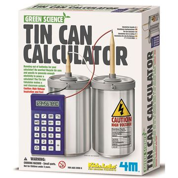 Picture of 4M Science - Tin Can Calculator