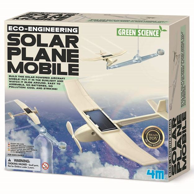 Picture of 4M Science - Solar Plane Mobile