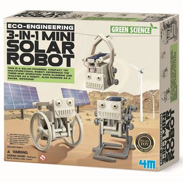 Picture of 4M Science - 3 In 1 Mini Solar Robot
