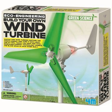 Picture of 4M Science - Build Your Own Wind Turbine