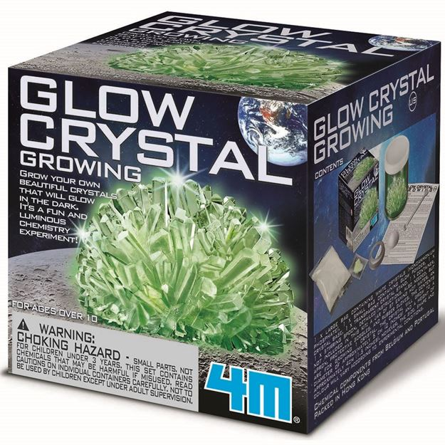 Picture of 4M Science - Glow Crystal Growing