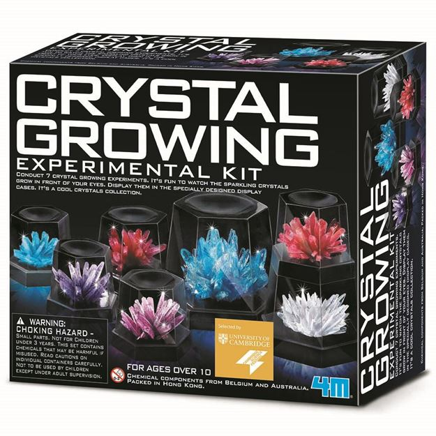 Picture of 4M Science - Crystal Growing Experimental Kit