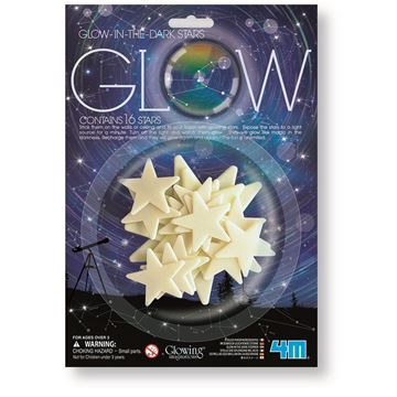 Picture of 4M Science - Glow 16 Stars Pack
