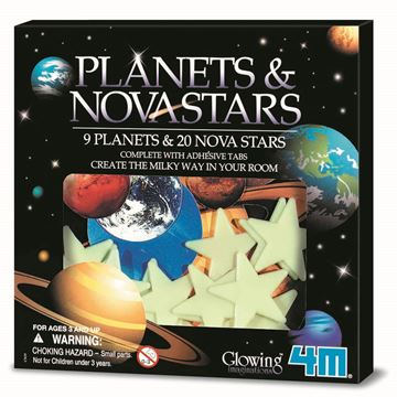 Picture of 4M Science - Glow Planets & 20 Nova Stars