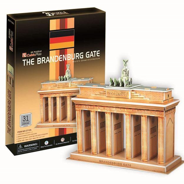 Picture of 3D Puzzle - Bradenburg Gate