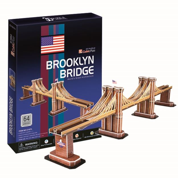 Picture of 3D Puzzle - Brooklyn Bridge
