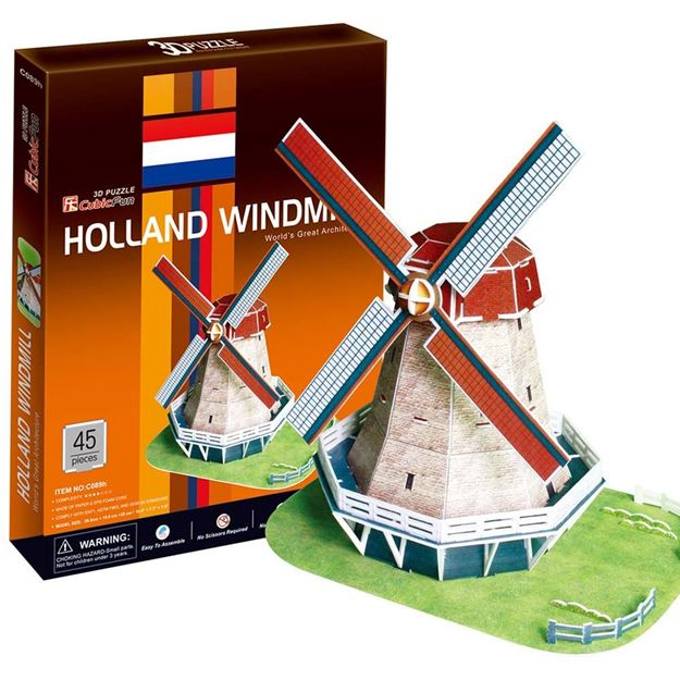 Picture of 3D Puzzle - Holland Windmill