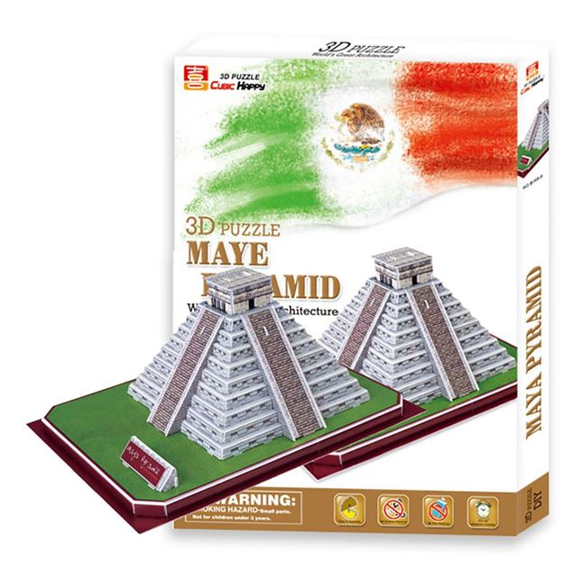 Picture of 3D Puzzle - Maye Pyramid