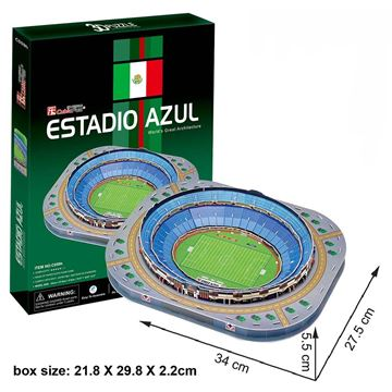 Picture of 3D Puzzle - Estadio Azul Stadium