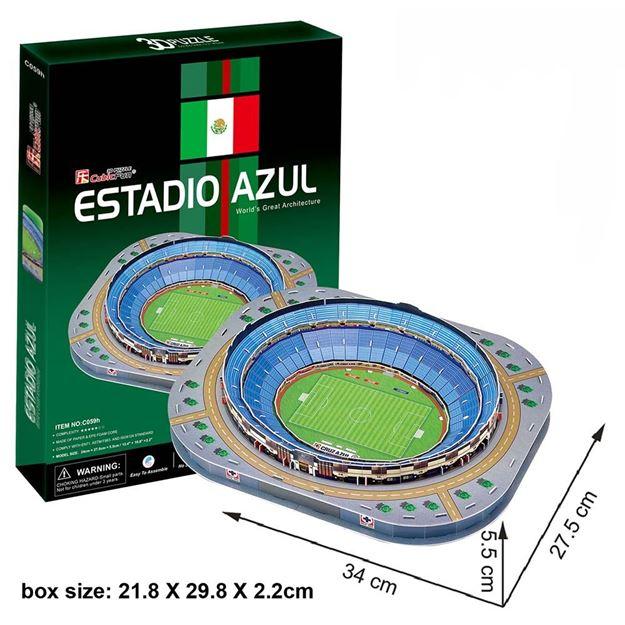Picture of 3D Puzzle - Estadio Azul Stadium