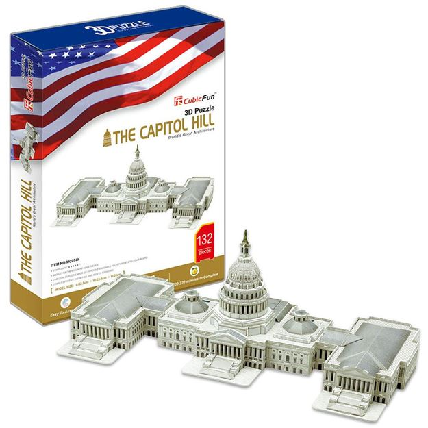 Picture of 3D Puzzle - The Capitol Hill