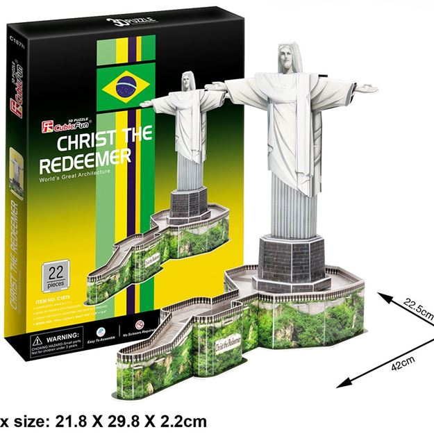 Picture of 3D Puzzle - Christ The Redeemer