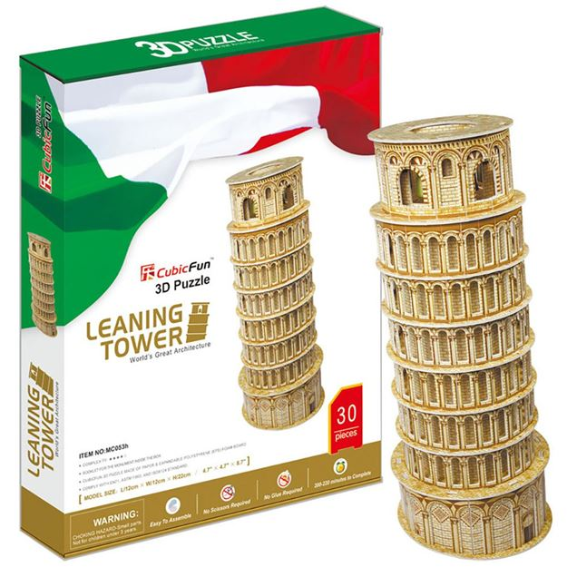 Picture of 3D Puzzle - Leaning Tower of Pisa