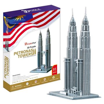 Picture of 3D Puzzle - Petronas Towers