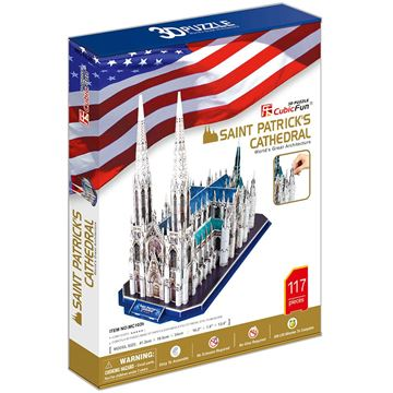Picture of 3D Puzzle - St Patrick's Cathedral