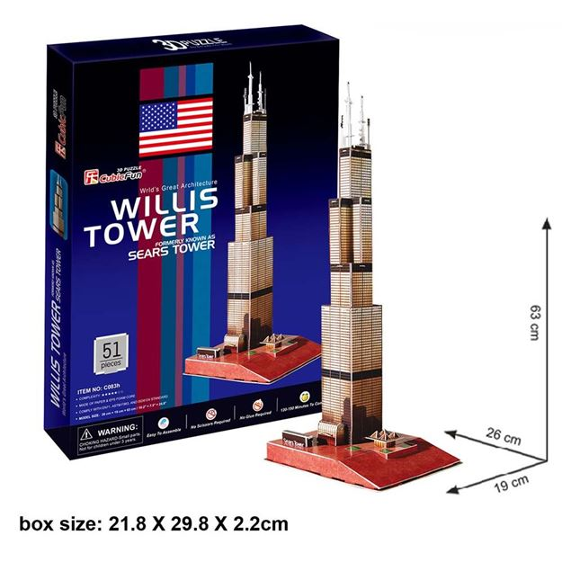 Picture of 3D Puzzle - Willis Tower (Sears)