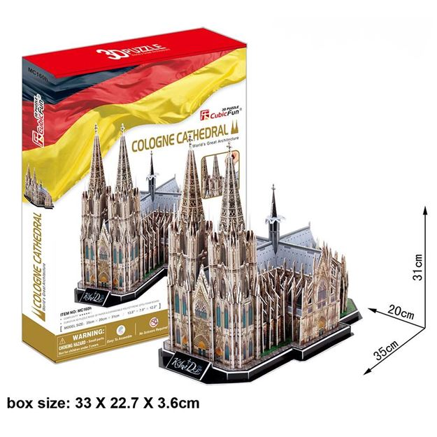 Picture of 3D Puzzle - Cologne Cathedral