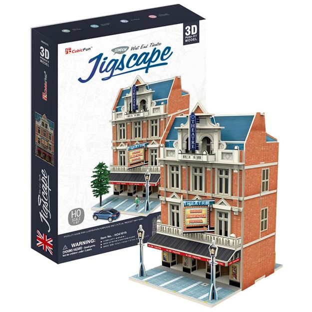 Picture of 3D Puzzle - West End Theatre - Jigscape
