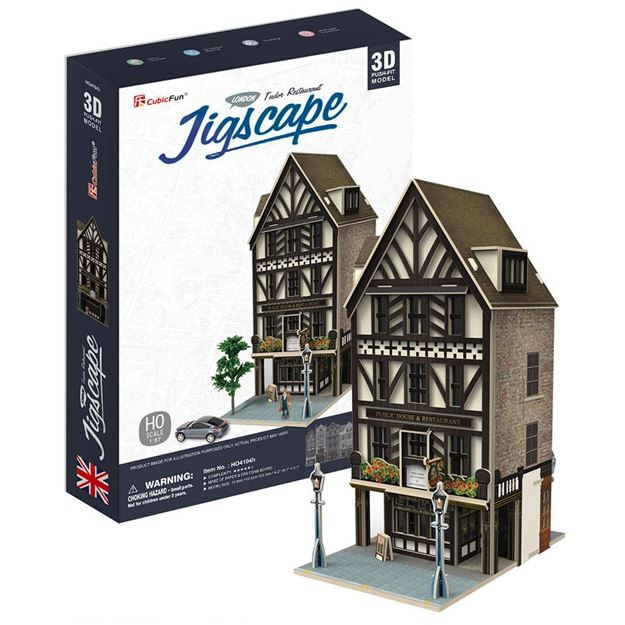 Picture of 3D Puzzle - Tudor Restaurant - Jigscape
