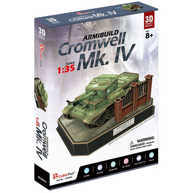 Picture of 3D Puzzle - British Cromwell MkIV