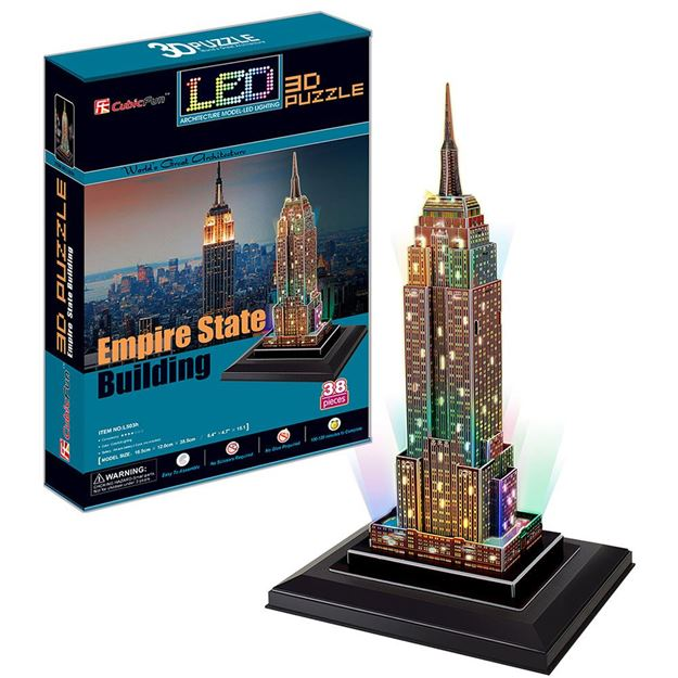 Picture of 3D Puzzle - Empire State Building LED