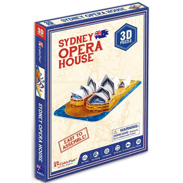 Picture of 3D Puzzle - Mini Sydney Opera House