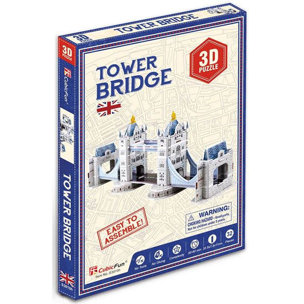 Picture of 3D Puzzle - Mini Tower Bridge
